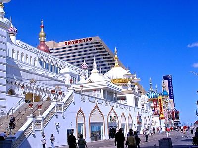 The Atlantic City Taj Mahal by Trump