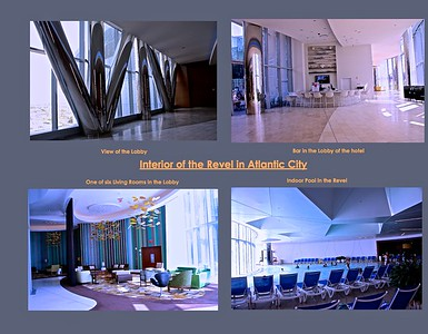 Interior of the Revel Hotel in Atlantic City