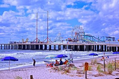 The World Famous Steel Pier in Atlantic City