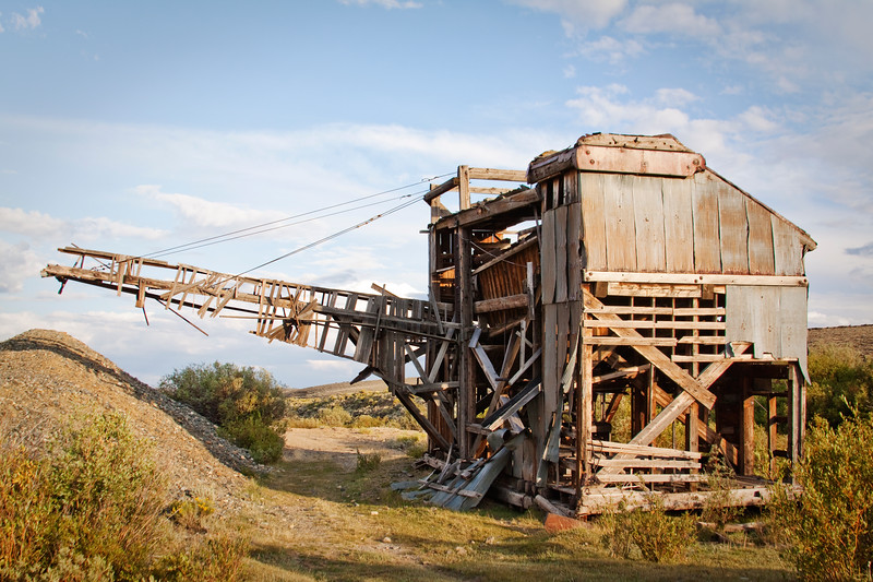 ET Fisher Gold Dredge