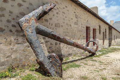 Sea anchor, The Citadel, Port Louis