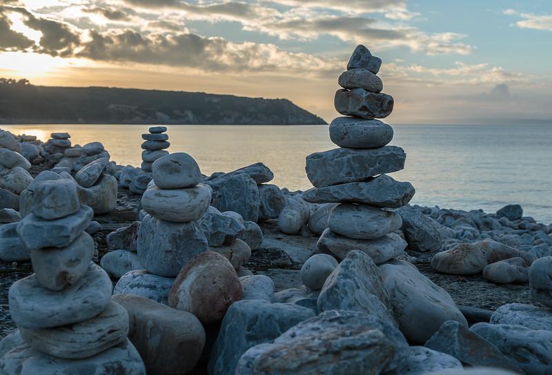 Stone cairns of Camaret