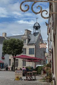 Town square, La Roche Bernard, Brittany