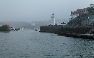 Misty Eve, Sauzon harbour, Belle Ile