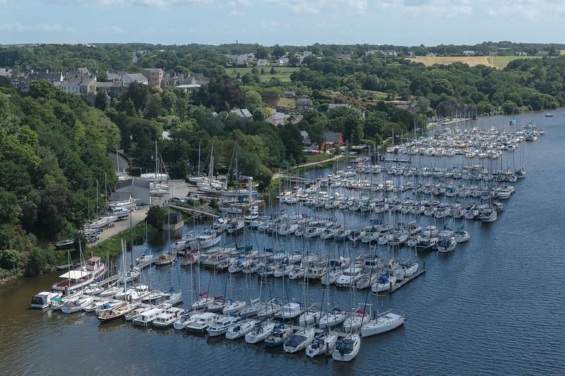 The marina, La Roche Bernard, on the River Vilaine