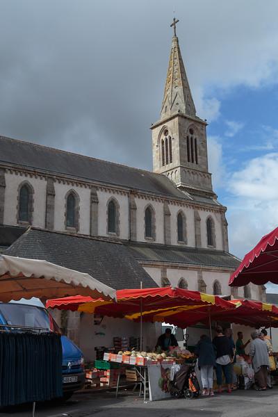 Thursday market, La Roche Bernard