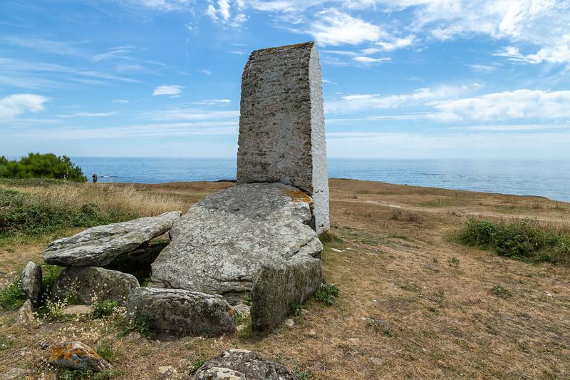 Viking grave, Ile de Groix