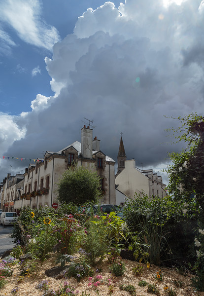 Cumulonimbus over La Roche Bernard