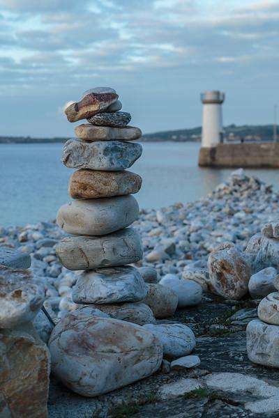 Stone tower, Camaret