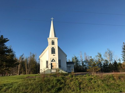 Lots of old style churches in the Maritimes.