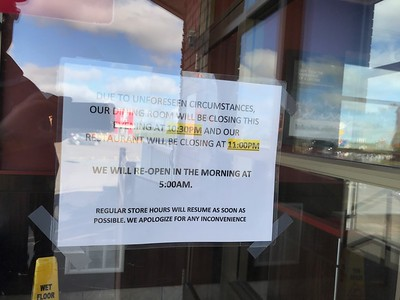 So what was going on at Tim Horton's?