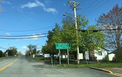 The track's in Mill Village, Nova Scotia.