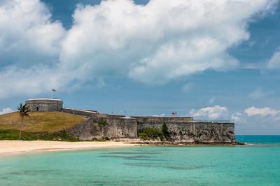 Fort St. Catherine in St. George's Island, Bermuda