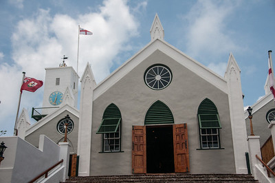 Their Majesties Chappel, St. Peter's Church, in St. George's Island, Bermuda