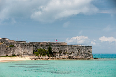 Fort St. Catherine in St. George's Island, Bermuda
