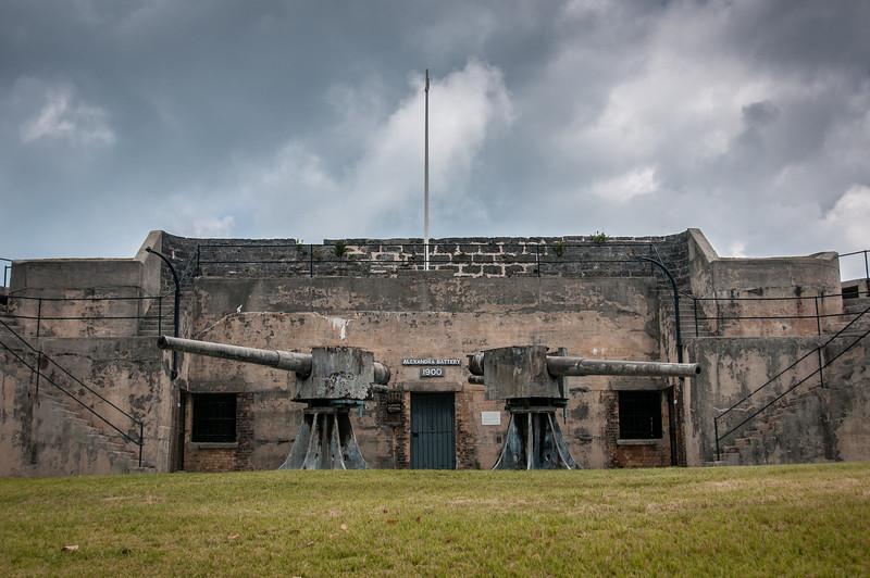Alexandra Battery in Fort St. Catherine in Bermuda