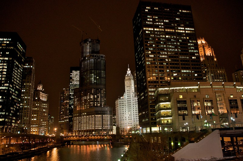 White Tower, Chicago River