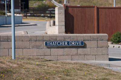 Thatcher Drive in Stanley, Falkland Islands