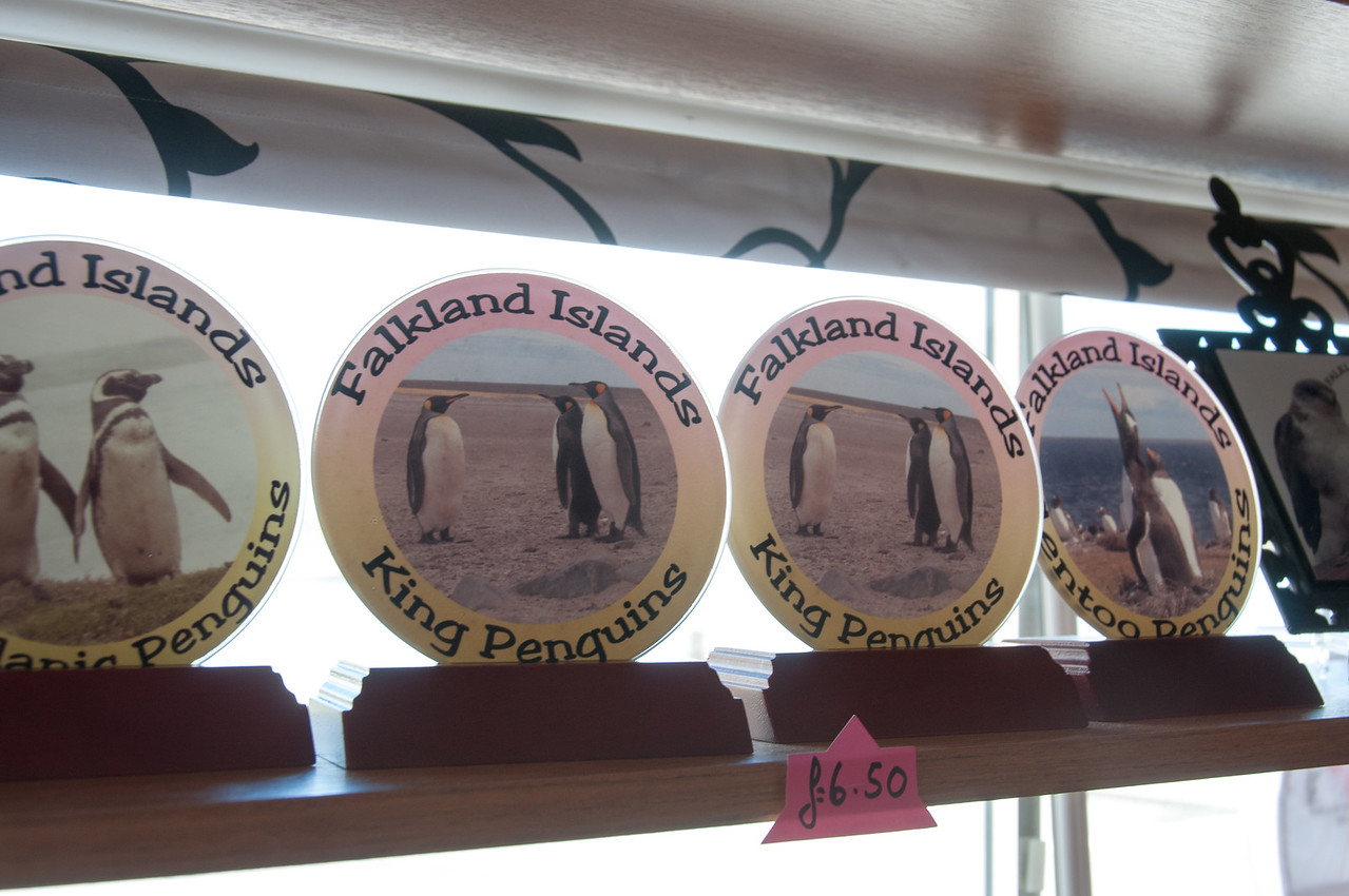 Falkland Islands souvenir in Stanley