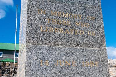 War Memorial, Port Stanley, Falkland Islands