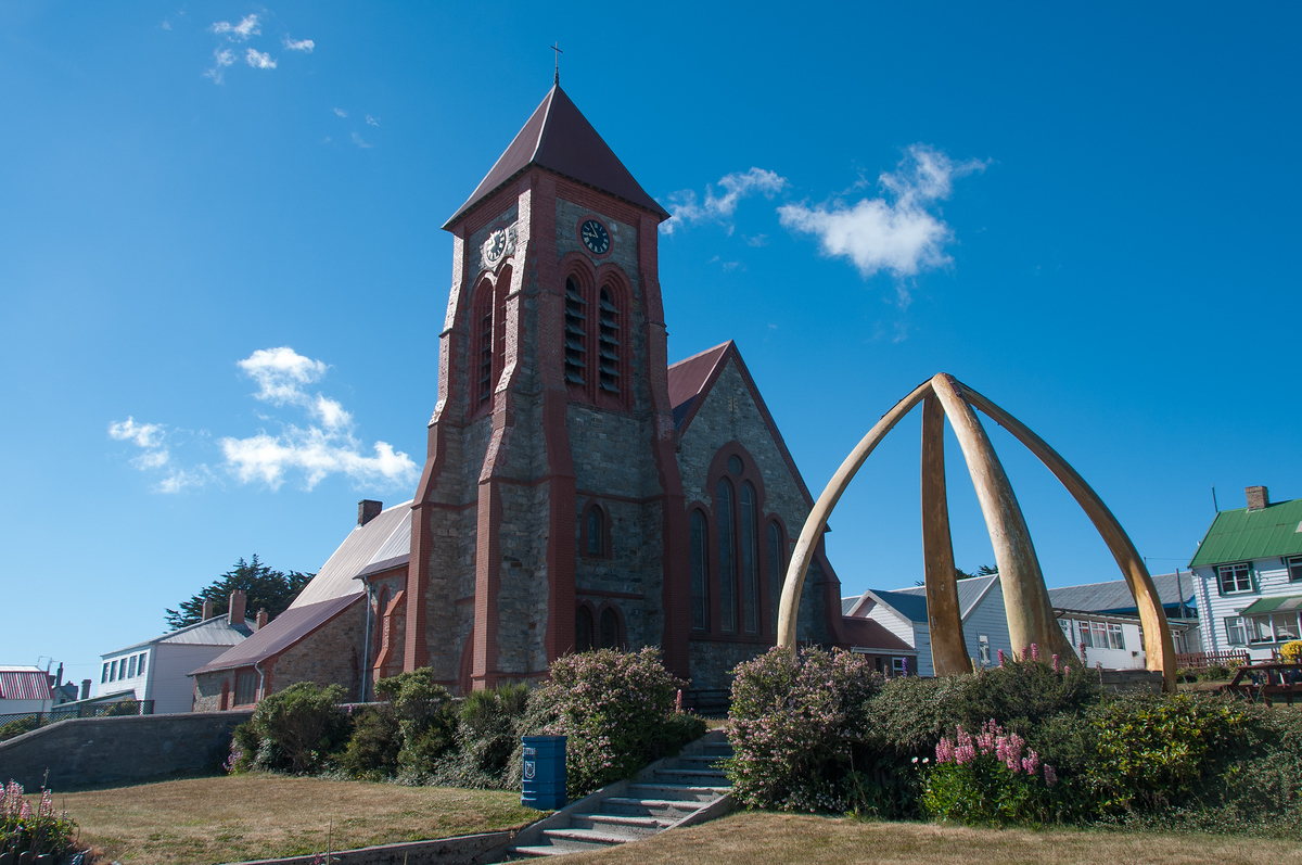 Anglican Cathedral in Stanley, Falkland Islands