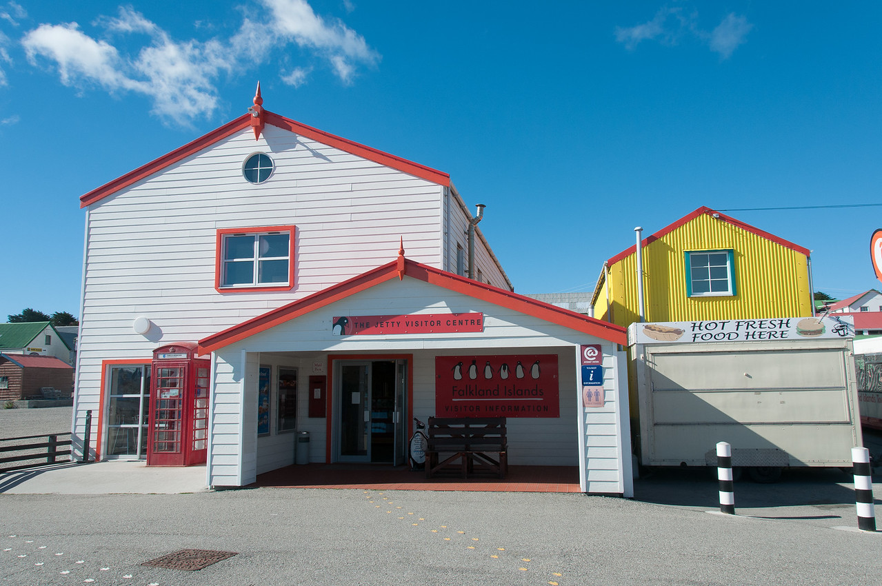 The Getty Visitor Centre in Stanley, Falkland Islands