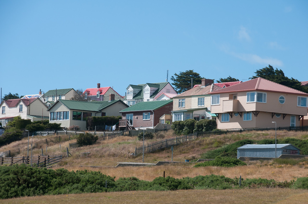 Houses in Stanley, Falkland Islands