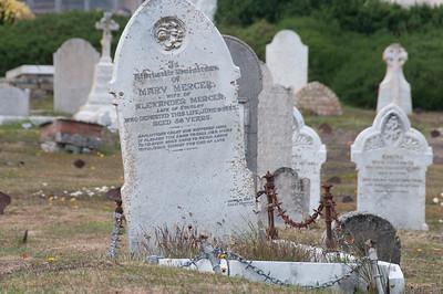 Graveyard in Stanley, Falkland Islands