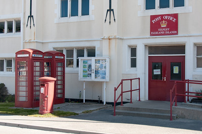 Post office in Stanley, Falkland Islands