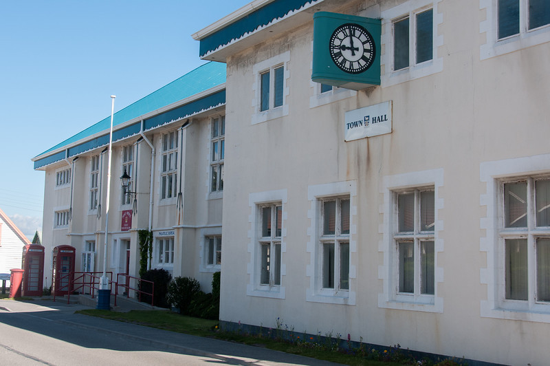 Town Hall in Stanley, Falkland Islands