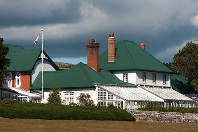 Colorful roof at Stanley, Falkland Islands