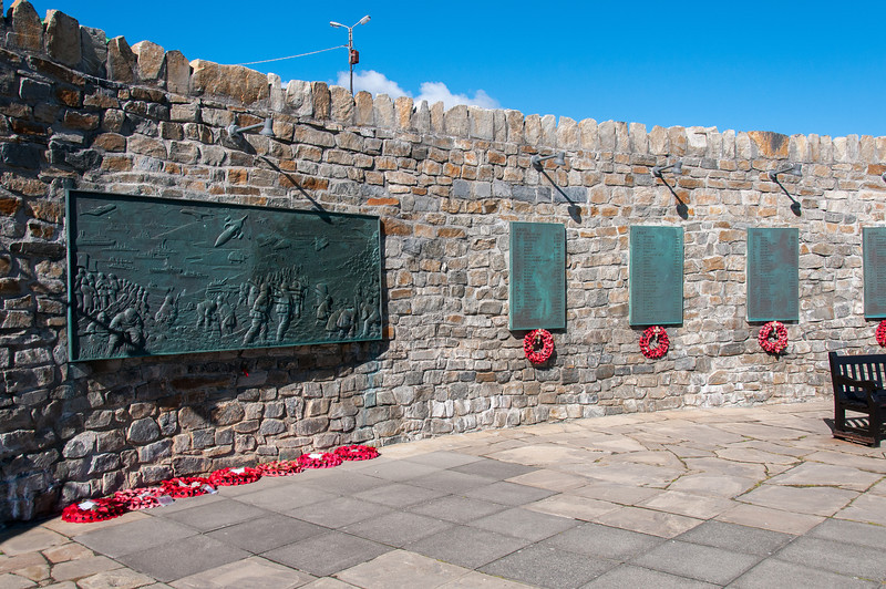 1982 Liberation Memorial in Port Stanley, Falkland Islands