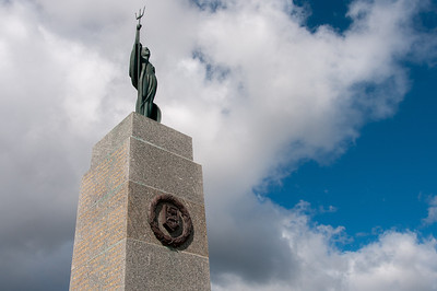 1982 Falkland War Memorial in Stanley, Falkland Islands