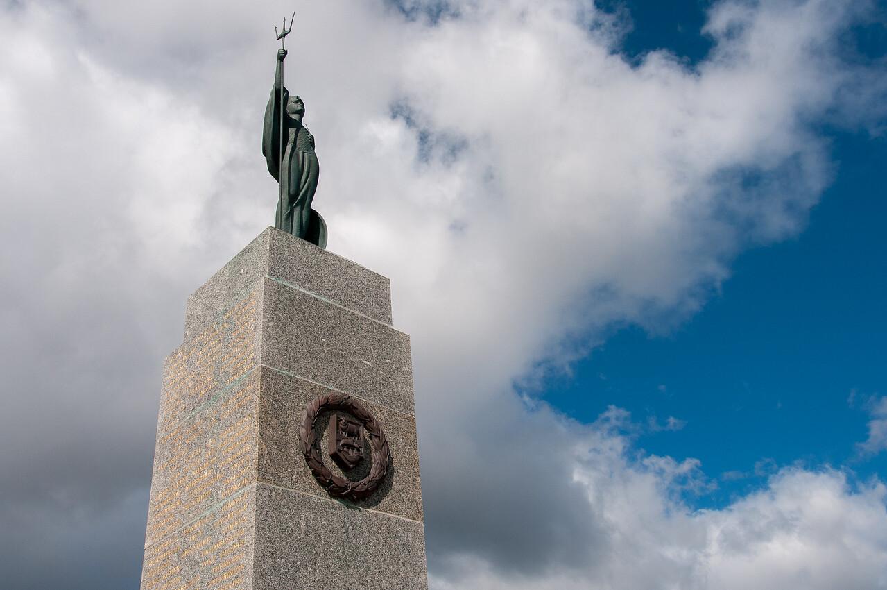 1982 Falkland War Memorial in Stanley, Falkland Islands