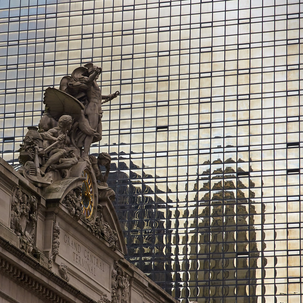Grand Central Reflection