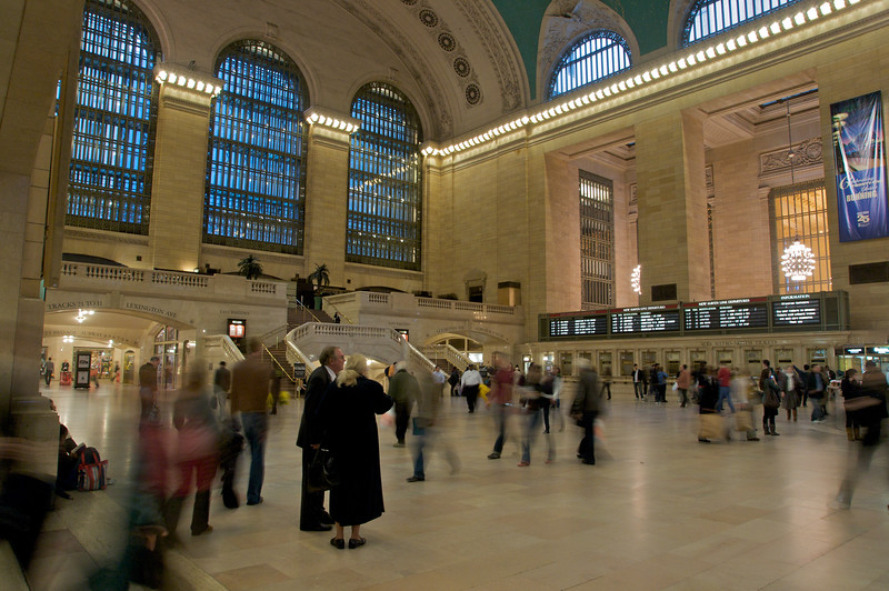 Waiting in Grand Central