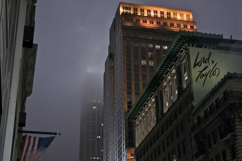 Misty Night on 5th Avenue