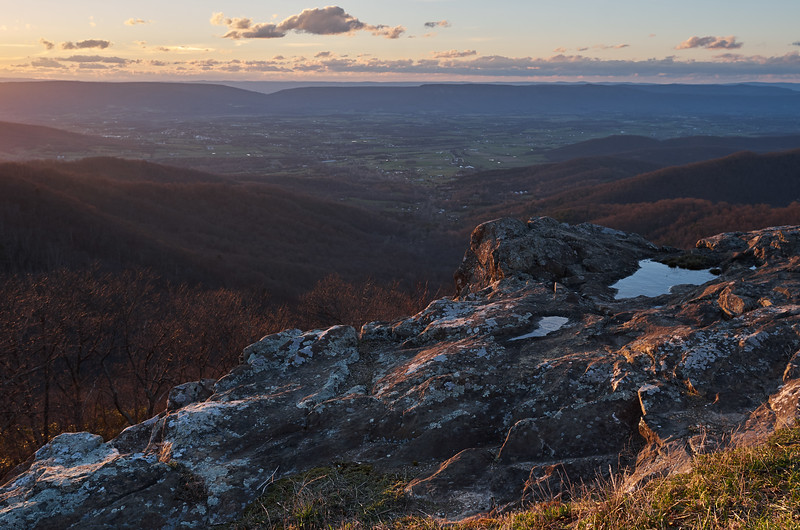 Crescent Rock, Evening Light