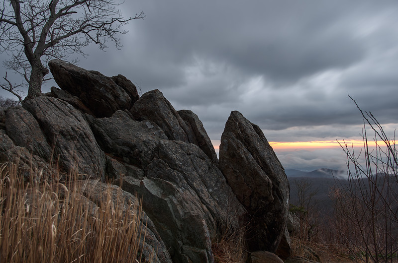 Dawn Breaks at Hazel Mountain
