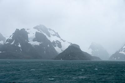 Glacier at Drygalsi Fjord, South Georgia Island