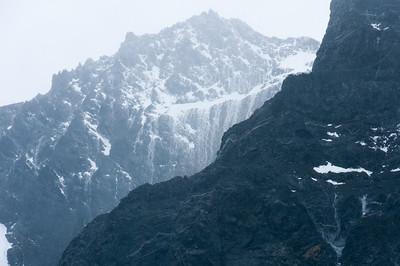 Glacier in Drygalski Fjord on South Georgia Island