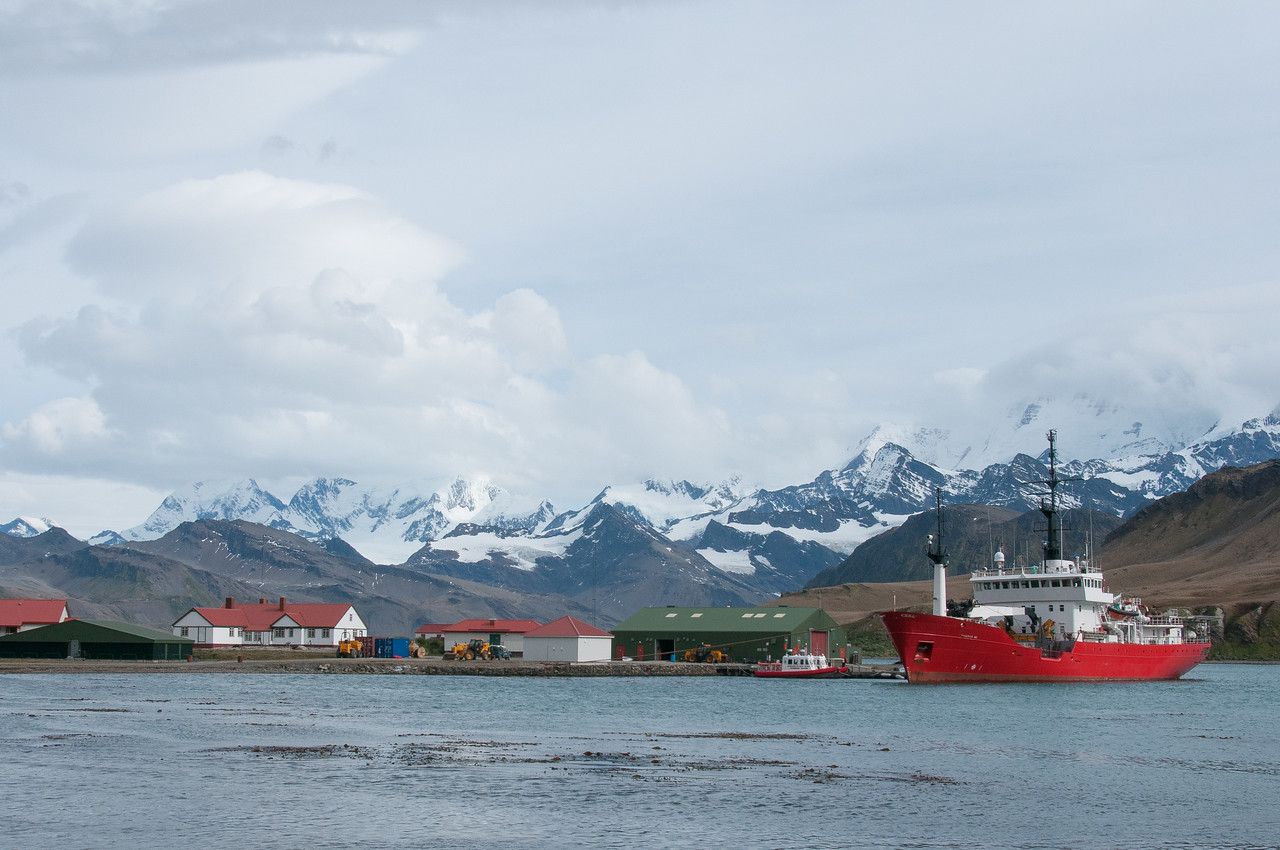 Grytviken in South Georgia Island