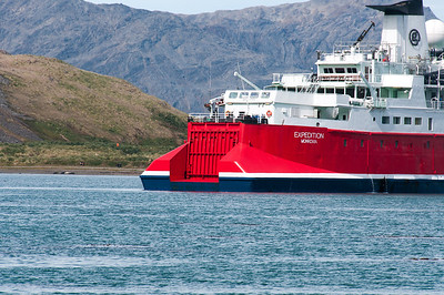 M/S Expedition in Grytviken