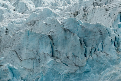 Glacier in Moltke Harbor, South Georgia Island