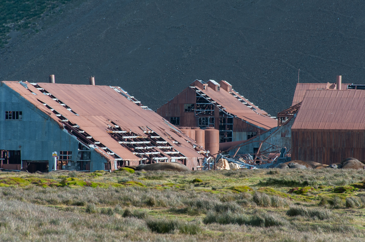 The Abandoned Norwegian Whaling Station of Stromness, South Georgia Island