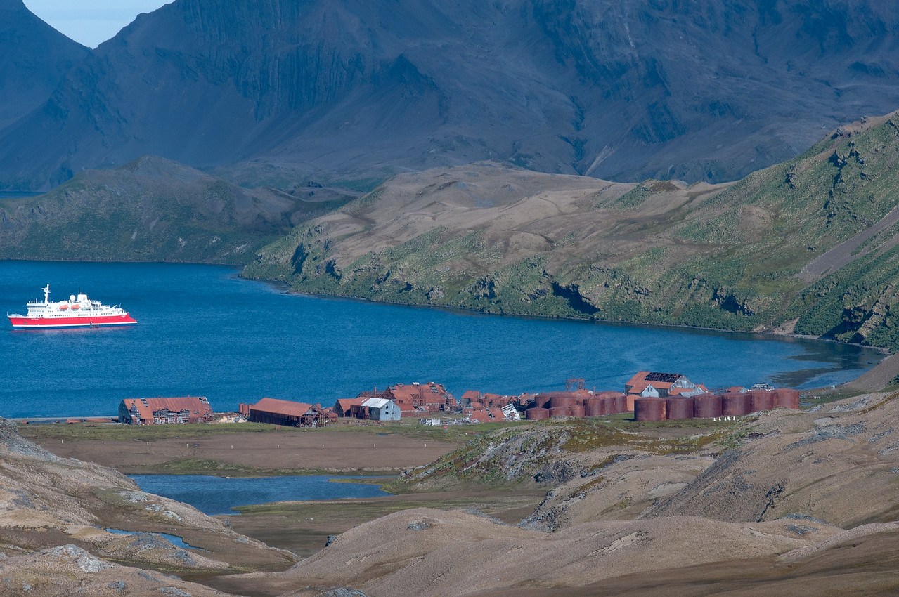 Stromness Bay in South Georgia Island