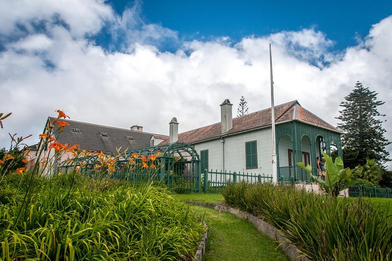 Longwood House in St. Helena