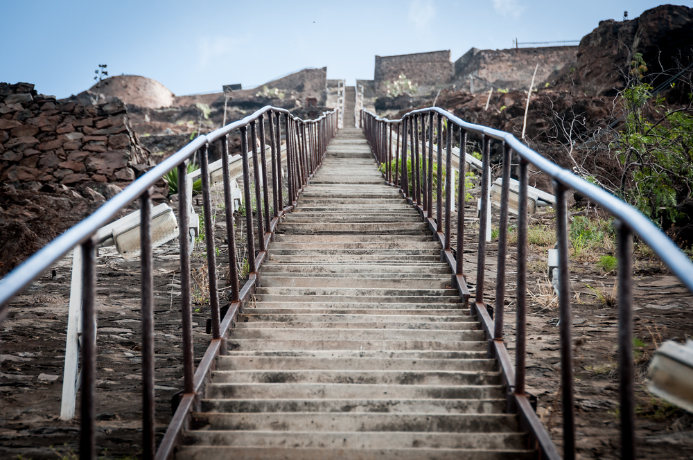 Jacob's Ladder on the Island of St. Helena