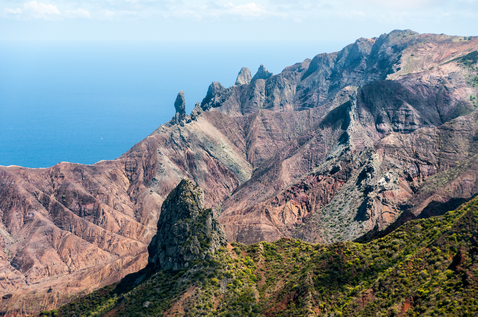 Lots Wife on the island of St Helena