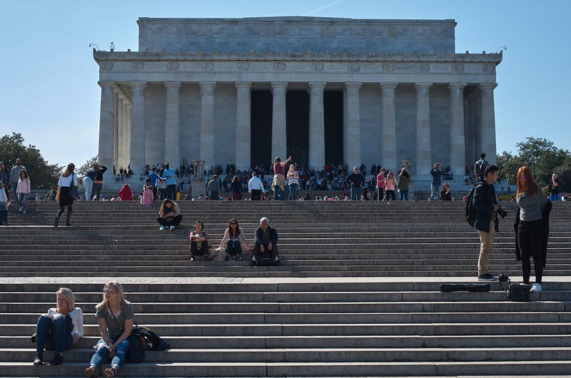 Steps of the Lincoln Memorial